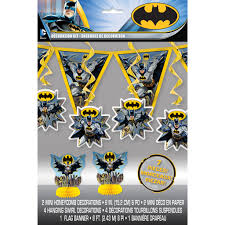Decorate your children's room with wall decorating stickers pick art design. Batman Party Decoration Kit Batman Party Decorations