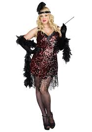 Plus Size Flapper Costumes - Adult 1920's Flapper Dress Costume