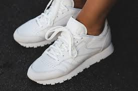 reebok classic leather. reebok - classic leather fbt suede (white / gold) bs6591 r