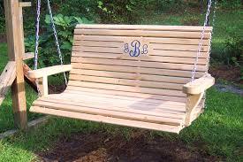wooden porch swings porch swings for wicker swings