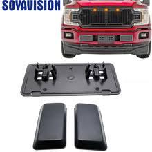 Черная <b>защитная накладка на передний</b> бампер для Ford F150 ...