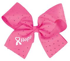 ac376 chassé cheer for the cause hope cheer bow