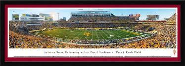 Frank Kush Field Seating Chart Arizona State Sun Devils Posters Sun Devil Stadium