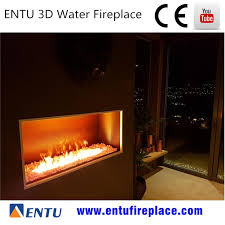 2017 Amazing 3d Water Steam Decoration Fake Flame Electric Water Vapor Fireplace