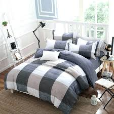 plaid duvet covers king modern plaid bedding queen spring and autumn cotton bedding sets duvet cover bed sheet minimalist style checd plaid bedding