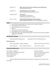 moa resume