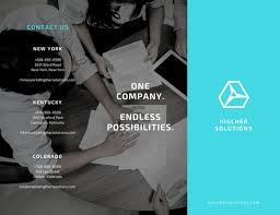 Customize 204+ Company Brochure Templates Online - Canva