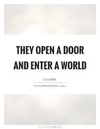 Open Door Quotes Classy Open Door Quotes Open Door Sayings Open Door Picture Quotes