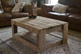 Rustic pallet Coffee Table  1001 Pallets