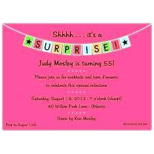 Gold Sparkling Lights Surprise Birthday Party Invitation