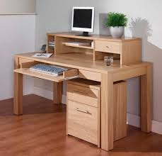 Office Furniture Modern Wood Desk Design Ideas All Wood Office