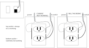 diy subth rebrn com help switched outlet wiring