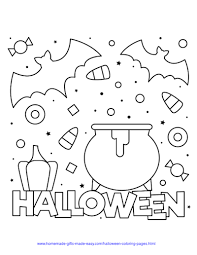 Click on an image below. 75 Halloween Coloring Pages Free Printables