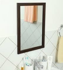 Bathroom wall mirrors Vintage Zahab Frame Wall Hanging Bathroom Mirror Fiber Pepperfry Bathroom Wall Mirrors Buy Mirrors For Bathroom Walls Online