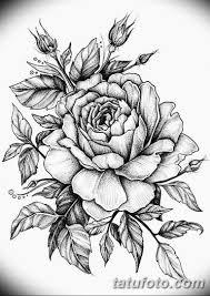 эскиз тату цветы на руку 8 Tatufotocom