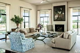 Ranch Living Room Take A Look Inside George And Laura Bushs Texas Ranch