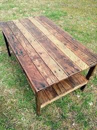 pallet furniture for sale. Pallet Furniture For Sale Wood Coffee Table Vintage Rustic Look I
