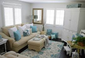 Small Picture Coastal Cottage Summer Living Room Fox Hollow Cottage