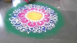 Diwali Rangoli Designs Sanskar Bharti Diwali Special Sanskar Bharti Rangoli Design Circle Hd