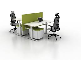 office desk for 2. X-Ray Two-seat Office Desk By Ergolain | Desking Systems For 2