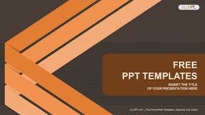Abstract Background With Lines Powerpoint Templates