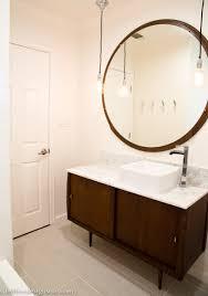 attractive modern bath vanity 21 contemporary mid century bathroom cre8tive designs inc regarding home