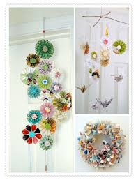Paper Flower Mobiles Pin By Bess Colpron On Craft Projects Paper Crafts Diy