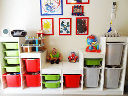 ... Kids desk, Deep Bins AND Presentation Options For That Latest Lego  Build Kids Toy Storage ...