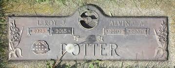 Alvina Ava Hanson Potter (1919-1980) - Find A Grave Memorial