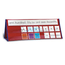 Place Value Tabletop Pocket Chart India Place Value
