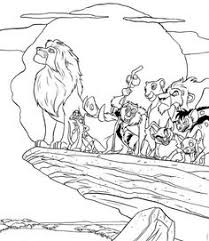 Small Picture The Lion King coloring page Coloring Pages for Kids Pinterest