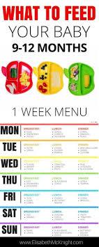 Sample Baby Feeding Chart Pin On Baby Feeding