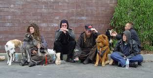 Homeless teen in u s
