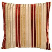 red sofa pillows.  Red Pillow Decor  Velvet Multi Stripes Red And Gold 20x20 Throw 1 Of 2 On Sofa Pillows T