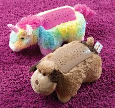 Dreamlite Pillow Pets Light Up The Room With Stars So Your