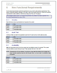 Business Requirement Example Business Requirements Document Template Example Business Template