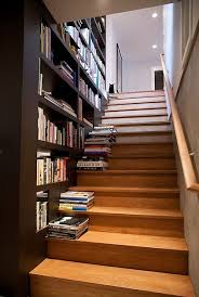 See more project details for San Mateo Remodel by Architect Mason Kirby Inc  including photos,. Staircase BookshelfStaircase IdeasStudy IdeasBook ...
