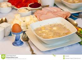 Table Setting For Breakfast Polish Easter Table Stock Photo Image 31269320