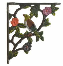 on cast iron bird branch wall art with cast iron shelf brackets bird shelf bracket bird shelf brace