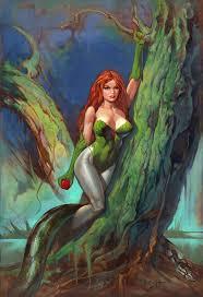Poison Ivy, Lucas Troya - ArtStation