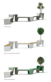urban furniture designs. Urban Furniture Design The Module P System By Via Competition Designs E