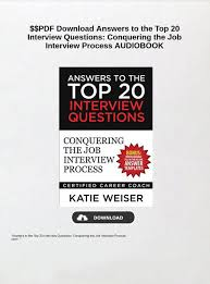Top 20 Interview Questions Pdf Download Answers To The Top 20 Interview Questions