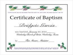 Sample Baptism Certificate Template Classy Baptism Certificate Template Publisher Feedscast