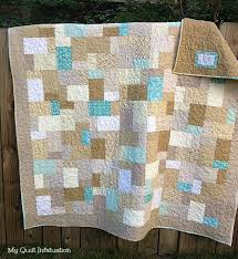 25 best Quilts - Double Slice Layer Cake images on Pinterest ... & Sand and Sea Glass Double Slice Layer Cake quilt Adamdwight.com