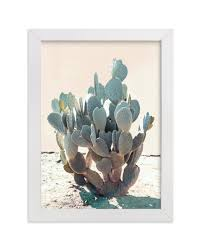 blue cactus limited edition art print by wilder california in beautiful frame options on cactus wall art framed with blue cactus wall art prints by wilder california minted