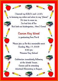 Preschool Graduation Announcements Pre K Graduation Program Template Magdalene Project Org