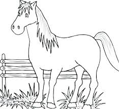 Easy Animal Coloring Pages Color Animals Wild For Kids Disney