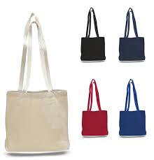 Large Blank Canvas Value Messenger Tote Bags Thrumbnail ...