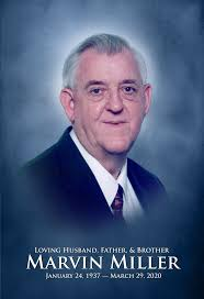 Obituary of Marvin Miller | Sherrell-Westbury Funeral Home - Proudl...