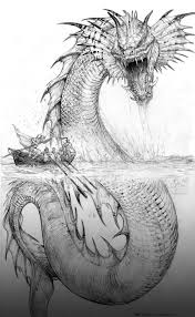 Small Picture Sea Monster Coloring Pages Miakenasnet